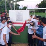 No Maranhão, prefeito inaugura obra e coloca apenas os nomes de vereadores aliados na placa