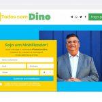 Site de apoio à campanha de Flávio Dino foi criado por funcionário do governo do MA