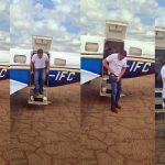 Vídeo: Weverton Rocha chega ao interior do Maranhão em avião de empresa alvo da Polícia Federal